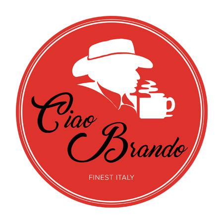 Ciao Brando őrölt pörkölt kávé díszdobozban