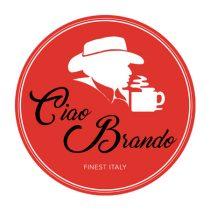 """Ciao Brando """"BRANDO"""" porcelán cappuccino csésze"""