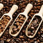 Pörkölt szemes kávék